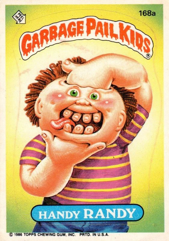 Handy Randy - Garbage Pail Kids