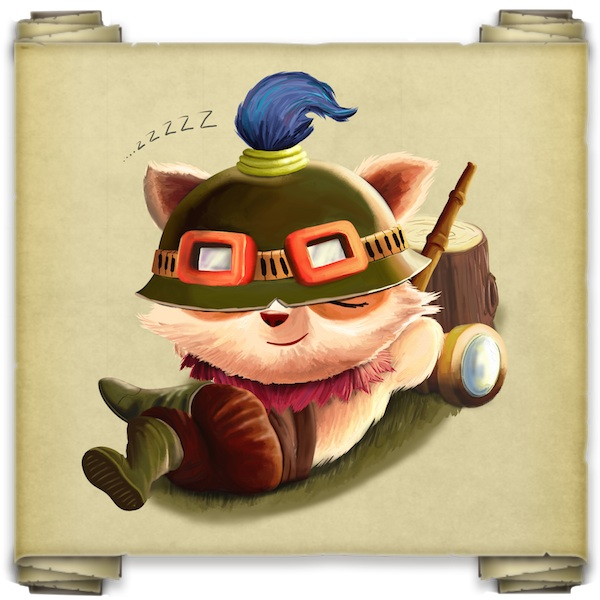 Teemo Resting