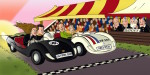 Le Mans Style Cartoon